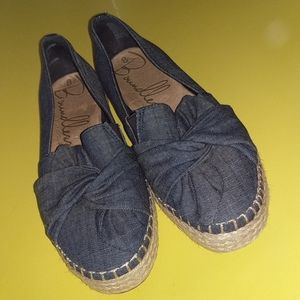 NEW Boundless Denim Loafers Boat Shoes Size 8